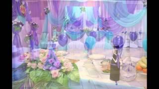 оформление праздников цветами украшение свадебного зала воздушные шары в павлодаре(свадебное оформление свадебного зала на свадьбу в Павлодаре украшение зала в павлодаре оформление свадеб..., 2016-05-06T14:15:44.000Z)