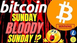 BLOODY SUNDAY for BITCOIN LITECOIN and ETHEREUM, crypto TA, analysis price, trading BTC, RALLY, DUMP