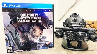 Modern Warfare: DARK EDITION Rapid Fire Unboxing - REAL Night Vision Goggles