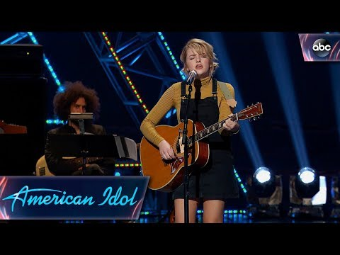 Maddie Poppe Sings Original Song for Her Hollywood Week Solo Song - American Idol 2018 on ABC