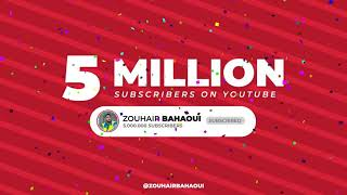 Zouhair Bahaoui | 5 MILLION subscribers on my YouTube channel ❤️ I love you all 🤍