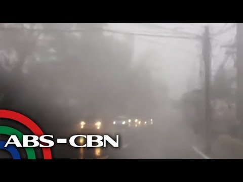 Tisoy Prompts Power Cuts As It Batters Tagaytay City, Other Parts Of Cavite | ANC