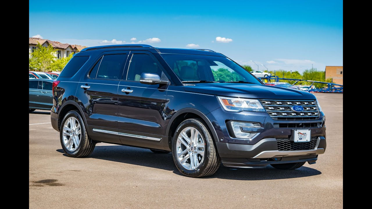 2017 ford explorer limited walkaround youtube. Cars Review. Best American Auto & Cars Review