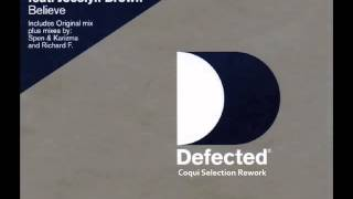 "MINISTERS DE LA FUNK Feat  JOCELYN BROWN ""BELIEVE"" COQUI SELECTION REWORK"