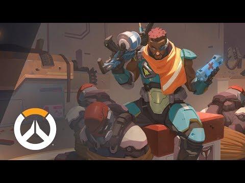 [NEW HERO – COMING SOON] Baptiste Origin Story | Overwatch (EU) thumbnail