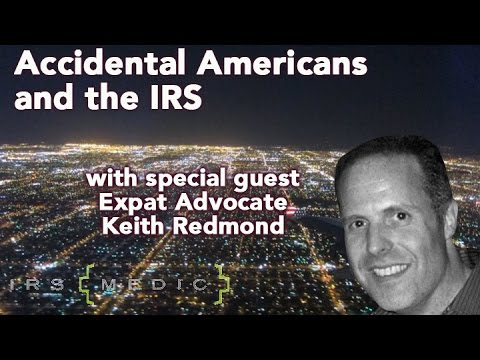 """The consequences of being an """"Accidental American"""" with special guest Keith Redmond"""