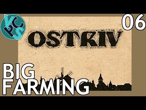 Big Farming : Ostriv EP06 - A New Banished? Detailed Pre-Industrial City-Builder