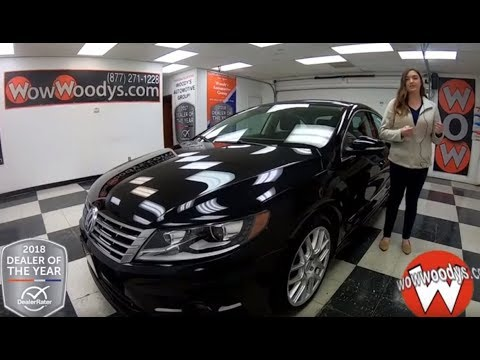 2014 Volkswagen CC Review | Video Walkaround | Used Cars and Trucks at WowWoodys