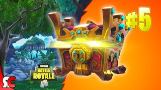 Courage Opens Real Life Loot Chest Llama With Fortnite