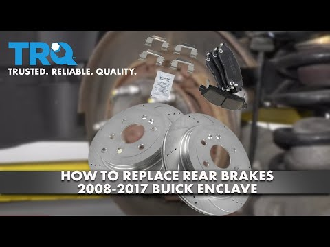 How to Replace Rear Brakes 2008-17 Buick Enclave