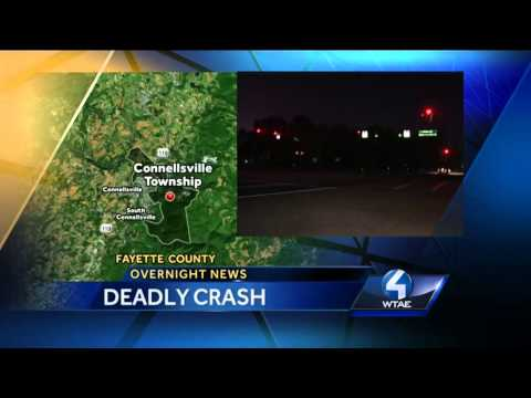 Connellsville Township crash kills 1