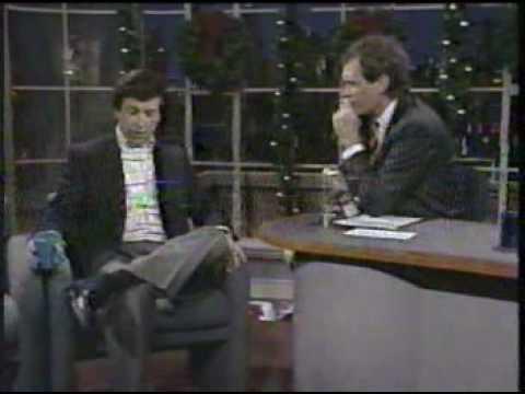 Marv Albert on Letterman, 12/21/89