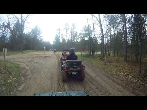 Northern Michigan  Kalkaska, Frederic and North Missaukee ATV trails.