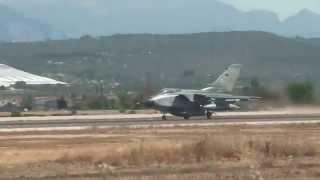Palma de Mallorca airport Tornado ECR German air force.