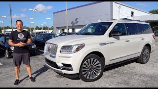 Is the 2019 Lincoln Navigator a BETTER luxury SUV than a Cadillac Escalade?