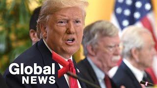 Trump vows to block Bolton impeachment testimony