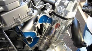 Mercedes-Benz Engine Training Demo Machine