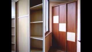 как сделать угловой шкаф на балконе