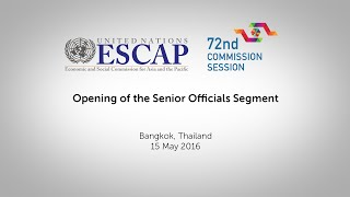CS72: Opening of the Senior Officials Segment