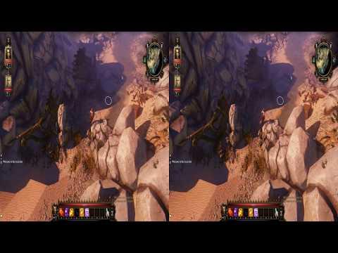 PixelsinVR Some games in SBS (side by side) stereoscopic 3d (pilot episode)