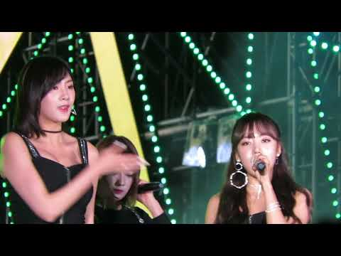 170915 Apink 127 2017 Lotte Duty Free Family Festival Seoul-Only One (내가 설렐 수 있게) 에이핑크(Fancam)