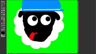 Speed Draw   Mail Man Sheep