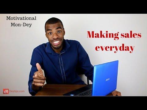 Making eCommerce sales everyday - #MotivationalMonday