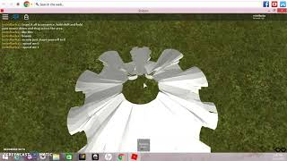 How to attach hair + a dress with f3x on roblox