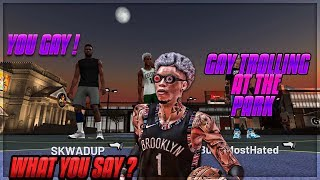 I TROLLED A GROWN MAN ACTING GAY IN GAME CHAT FUNNY REACTIONS MUST SEE NBA2K19
