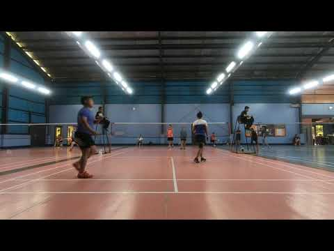 Badminton 2018 Dual Meet ACN vs Globe Game 3