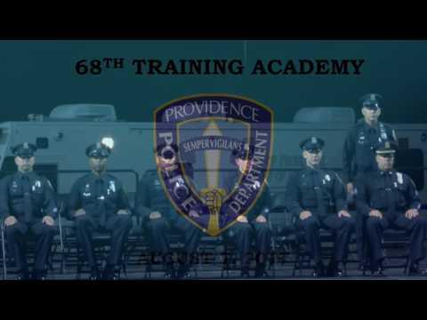 Providence Police 68th Traning Academy Ceremony 2017