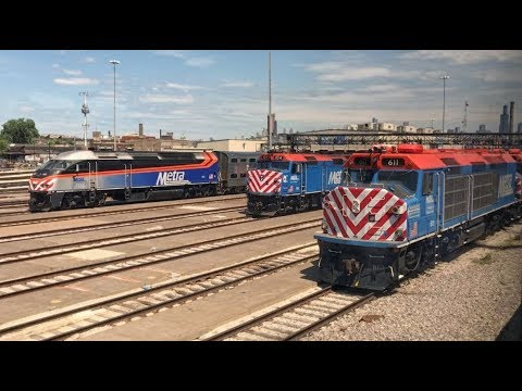 Riding Amtrak's Empire Builder: Twin Cities to Chicago & return