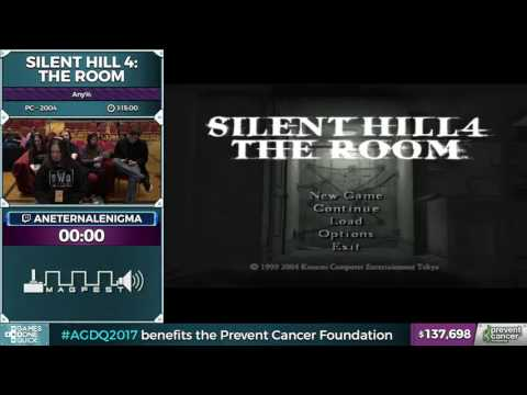 Silent Hill 4: The Room by aneternalenigma in 1:11:21 - Awesome Games Done Quick 2017 - Part 12