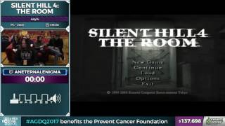 Silent Hill 4 The Room by aneternalenigma in 1 11 21 - AGDQ 2017 - Part 12