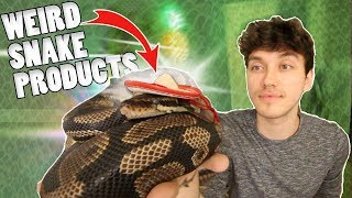 TESTING WEIRD SNAKE PRODUCTS!