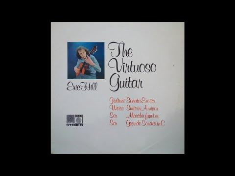Eric Hill Guitar Music Of Giuliani, Ponce, Sor