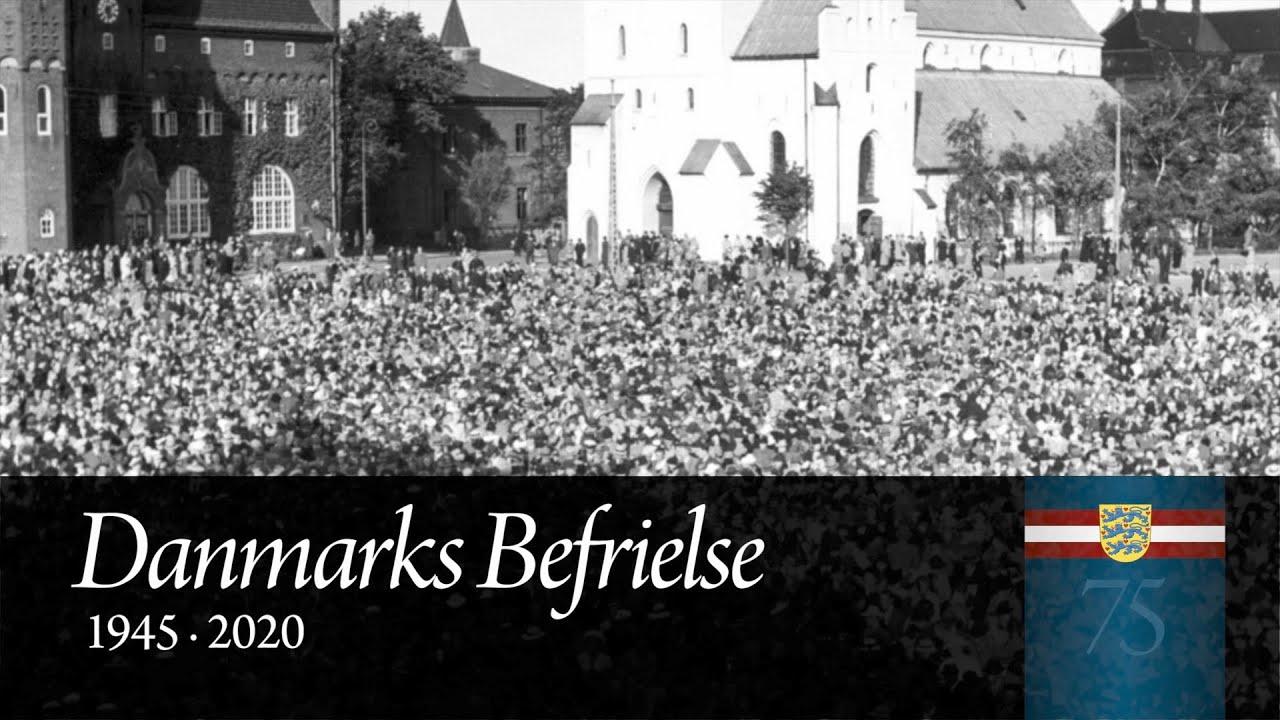 75-året for Danmarks befrielse - Refleksion og salmesang i Budolfi Kirke Aalborg - 5. maj 2020.