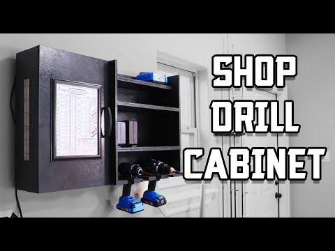 How to Build a Shop Drill Cabinet