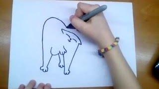 Кот Саймона | Няшка-Рисовашка(В этом видео вы узнаете как нарисовать кота Саймона. Если вам понравилось это видео, то обязательно оставля..., 2016-05-31T18:16:52.000Z)
