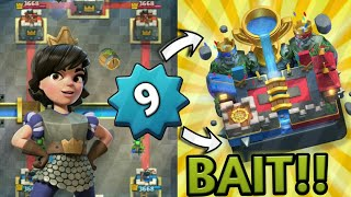 LEVEL 9 IN LEGENDARY ARENA Ep-1.. Clash Royale Strategy & Gameplay