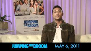 Take your mom to see Pooch Hall in JUMPING THE BROOM!