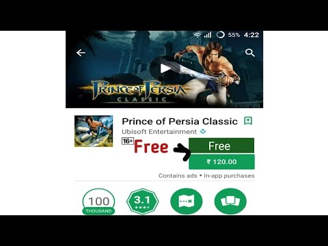 How to download prince of persia classic for free on android