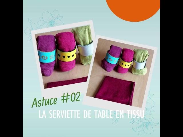 L'ASTUCE DE 9h02 - Fanes de Récup #02 La serviette en papier