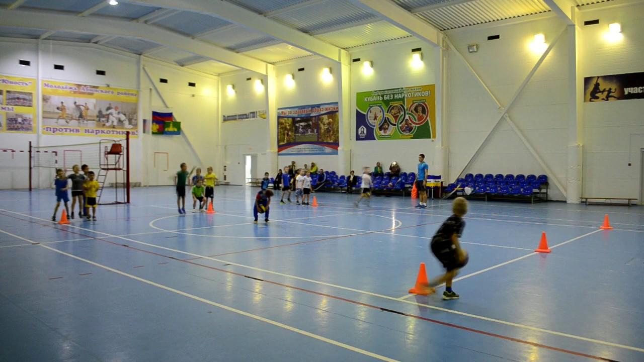 Открытое занятие по волейболу группа 6-7 лет.