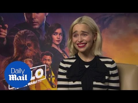 Emilia Clarke On Difference Between Being In Game Of Thrones & Solo