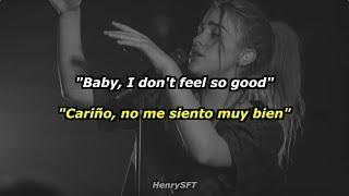 Billie Eilish - wish you were gay |Lyrics| (Sub Español)