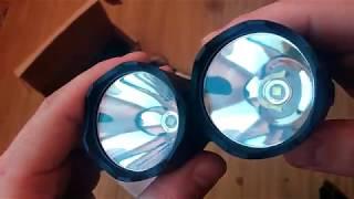 Sofirn C8T — дальнобойный фонарь на Cree XP-L HI (1310 лм). Сравним с Sofirn C8A