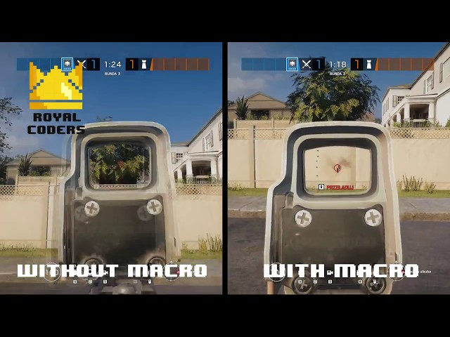 New Rainbow Six Siege Macro No Recoil Script - Updated For 2019