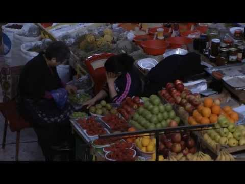 8 minutes walking in Yerevan, Armenia