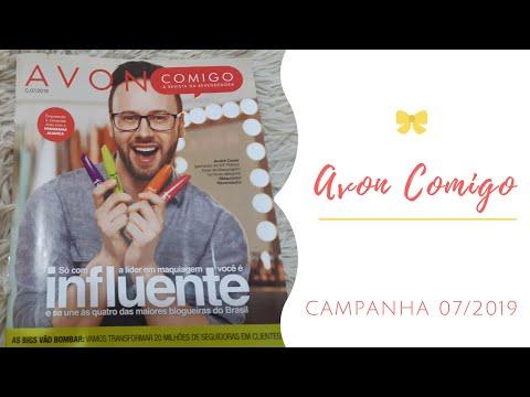 AVON COMIGO CAMPANHA 07/2019 | REVISTA DO REVENDEDOR